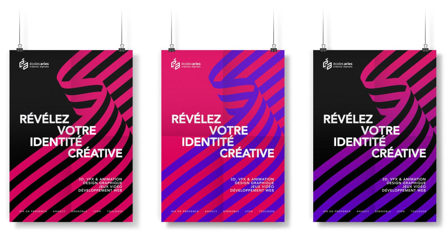 École ARIES, révélez votre identité créative