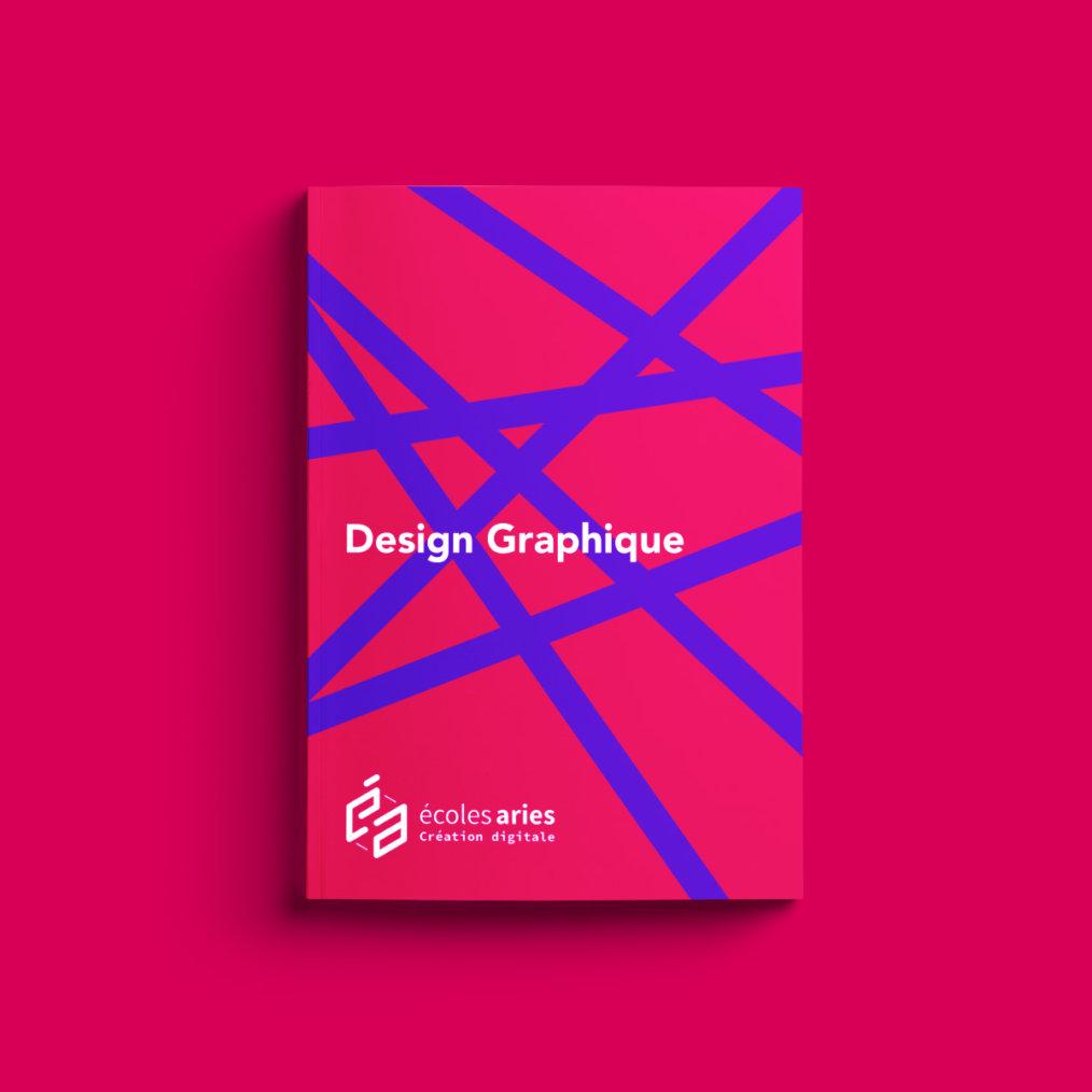 École ARIES, design graphique