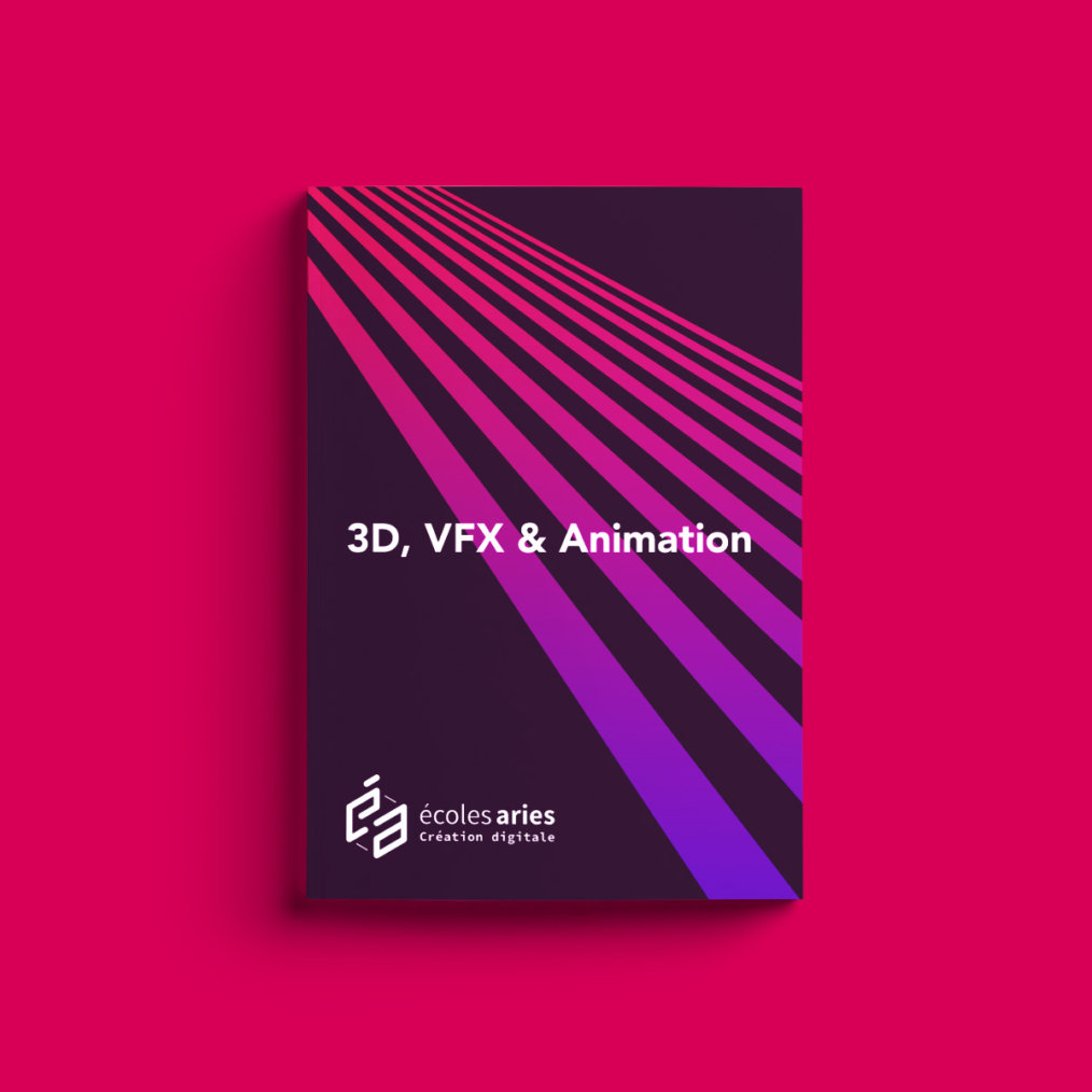 École ARIES, 3d vfx animation